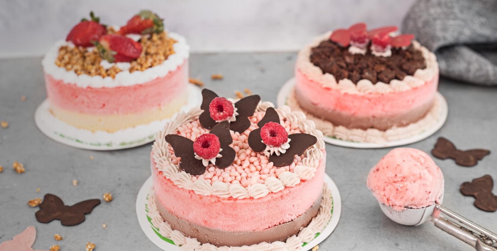Mini torta de helado
